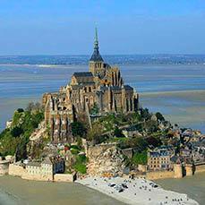 Le mont saint michel jour Breizhcab Limousine VTC Rennes en Bretagne