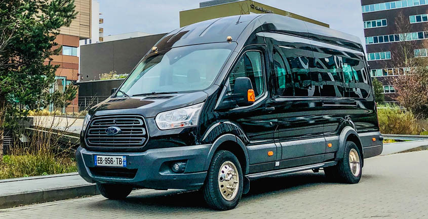 SHUTTLE FORD TRANSIT 16 PLACES